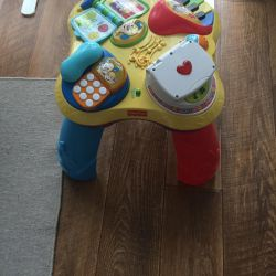 Fisher price developing table