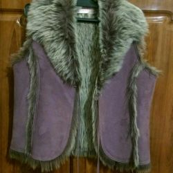 Vest for a young fashionista