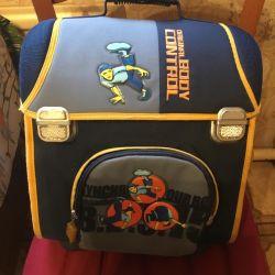 Bir çocuk için sırt çantası
