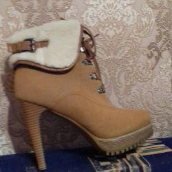 ✔ Μπότες ποδιών Suede 39/40 👍