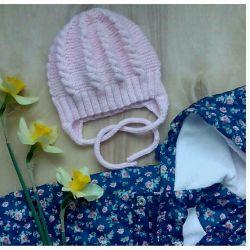Cap for girls handmade