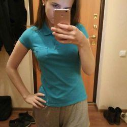 👕 Blue Polo T-shirt
