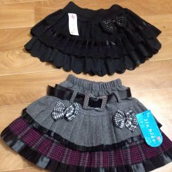 Skirts new for girl 5-7 years