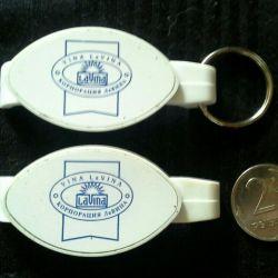 Keychain opener for keys