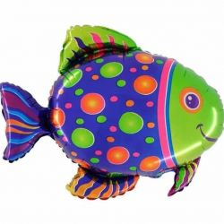 Helium balls fish, big