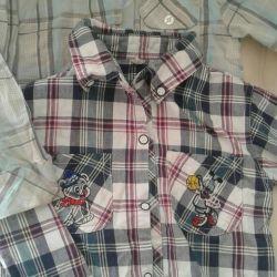 Shirt height 98