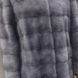 Yeni mavi vizon ceket