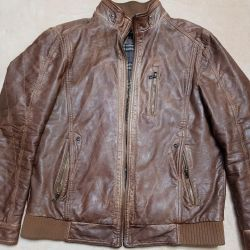 Кожаная куртка BEARLOGA