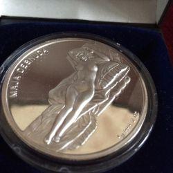 Coin silver ag.999 2 oz