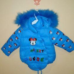 Зимняя куртка микки