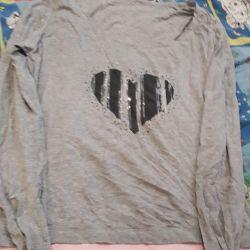Cotton sweater 50–52