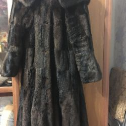 Fur coat for lady