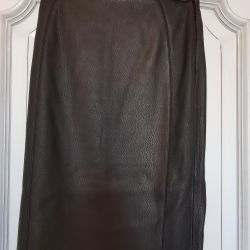 Skirt leather valentino original