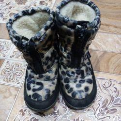 Οι μπότες είναι πολύ ζεστές.