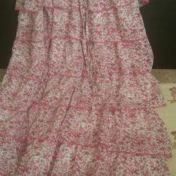 Φούστα φόρεμα κομψό 46 μεγέθη
