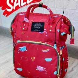 Μαξιλάρι τσάντα μωρών & Baby Ζώντας ταξιδεύουν sh