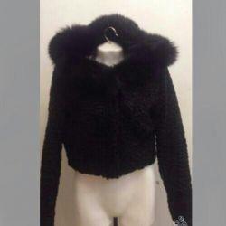 Fur coat Italy new 42/44 astrakhan fur