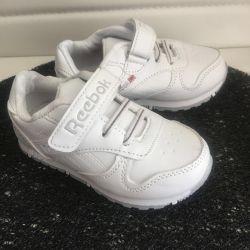 Beyaz spor ayakkabı yeni, 24-26