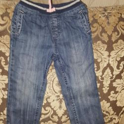 3-4g insulated jeans