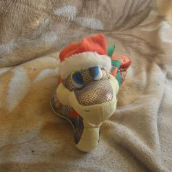 Soft toy Snake New Year with bag