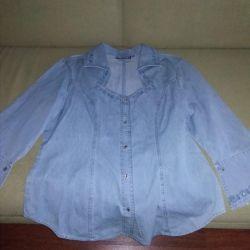 Denim shirt size 50-52