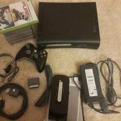Game console X-box 360 elite jasper 120gb
