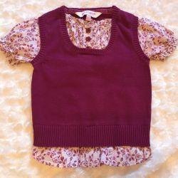 Блуза 2в1