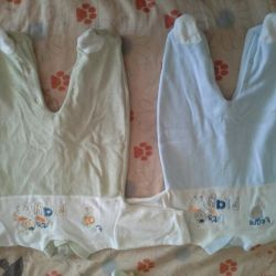 Velor overalls 0-3 months