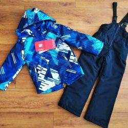 New demi-season suit for a boy 140 (+6) cm