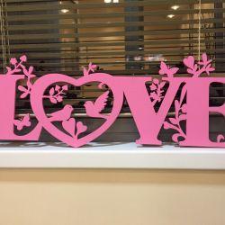 Букви для весілля або фотосесії