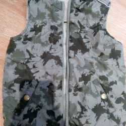 Double-sided vest