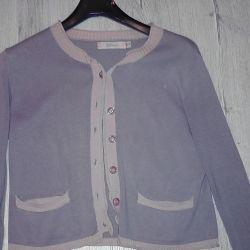 Free-cut cardigan