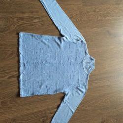 New Blue Sweater Turtleneck