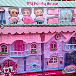 Folding dollhouse LOL Lol new