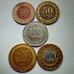 Набір монет Вірменії 2003 рік