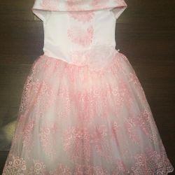 Mezuniyet için elbise 6-7 yıl