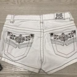 Denim shorts 4-7 years