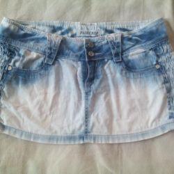 Jeans skirt mini