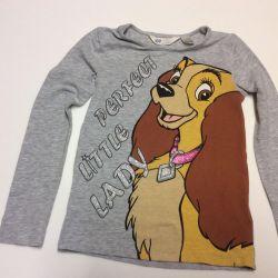 Кофта футболка с длинным рукавом H&M