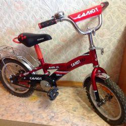 Bicicleta Salute 3-8 ani