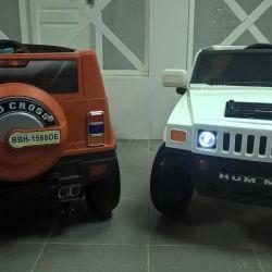 The electric car Jeep Hamer r / at 2 motors