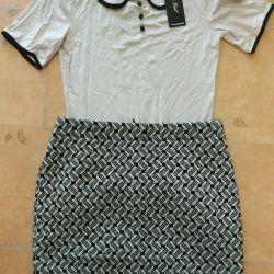 A new set (skirt, jacket) 42