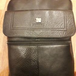 Men's bag made of genuine leather.