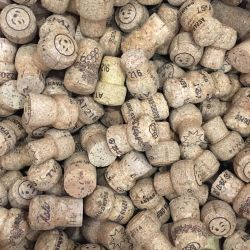 Champagne wine corks