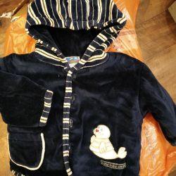 Jacket + overalls.