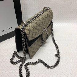 Gicci Leather Clutch