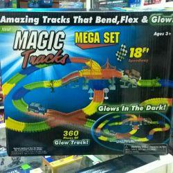 Набор Magic Tracks Светящийся трек 360 деталей