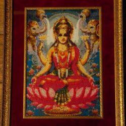 Imagine brodată Lakshmi 50 * 40cm