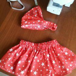 Skirt with bandana