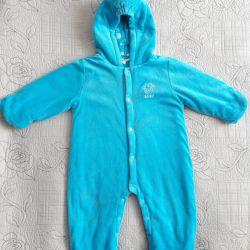 Комбінезон для хлопчика V-baby, р. 6-12 міс, 68-80